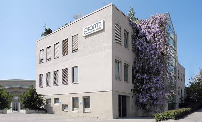 2011: Das Verwaltungsgebäude in Ditzingen-Heimerdingen